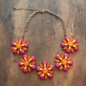 Bright and colorful necklace!